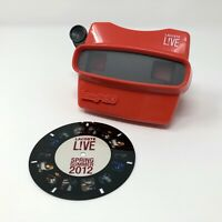 Lacoste Live Red Image 3D w/ Reel Spring Summer 2012 RARE Viewmaster