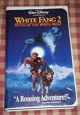 WALT DISNEY WHITE FANG 2 VHS 4073 MYTH OF THE WHITE WOLF WITH INSERT JAN 3 1997