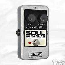 Electro-Harmonix Nano Soul Preacher Compressor/Sustainer Pedal - SOULPREACHER