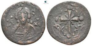 Savoca Coins Anonymous Follis Jesus Christ Cross 4,64 g / 22 mm @THB0243