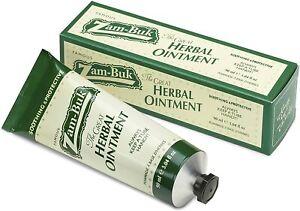 Zam-Buk Herbes Pommade Crème 90ml Tube Antiseptique Apaisant Coupures/Douleurs
