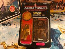 1984 Star Wars POTF Power of the Force 92 Back Lumat Ewok Action Figure MOC