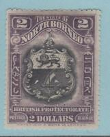 NORTH BORNEO 155 MINT HINGED OG * NO FAULTS EXTRA FINE !