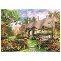 1000 Piece Jigsaw Puzzle England Cottage Landscapes Toys Educational Set NICE