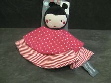 doudou coccinelle rose rouge pois rayure orchestra neuf