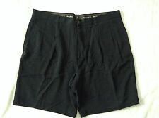 TOMMY BAHAMA Men Silk Shorts Size 40 Black Color SXS