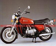 HONDA GL 1000 Gold Wing 1975 Fiche Moto 000037