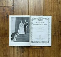 Vintage 1953 Elizabeth Crowned Queen Book Coronation B Odhams London England
