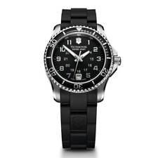 Reloj de cuarzo Swiss Army Para Mujer suizo Maverick Gs Dial Negro Correa de caucho 249067