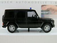 """Busch 51462 Mercedes-Benz G-Klasse (2008) """"Polizei / Bundestag"""" 1:87/H0 NEU/OVP"""