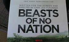 BEASTS OF NO NATION NETFLIX PRESS KIT LCD VIDEO TRAILER PROMOTIONAL PROMO