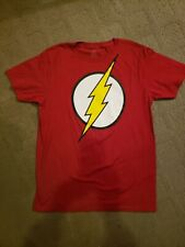 DC Comics The Flash T-shirt Youth Size 18 (XXL) or Men's S/M Red - New with Tags