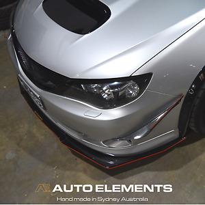 2008-2010 Subaru Impreza RS/WRX | Auto Elements Front Carbon Canards
