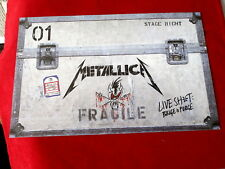 METALLICA~ LIVE SHIT & BINGE & PURGE~ DISPLAY~ RARE~ - ~ COLLECTABLES
