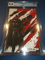 DCeased Dead Planet #1 Mattina Variant CGC 9.8 NM/M Gorgeous Gem