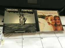 SMASHING PUMPKINS 4 CD+ 1 DVD LOT: ZEITGEIST, MELLON COLLIE, AND SIAMESE DREAM