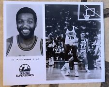 WILLIE NORWOOD - 1970's PRESS PHOTO - SEATTLE SUPERSONICS - Souvenir stand buy
