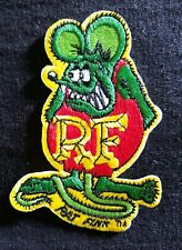 """New listing Officially Licensed Ed """"Big Daddy"""" Roth Rat Fink Hot Rod Patch Green & Red"""