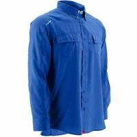 Marolina Outdoor Huk Next Level Black Long Sleeve Fishing Shirt Sz L New NWT