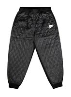Nike NSW Women's Sport Pack Quilted Athletic Pants CJ6256-010 Black Size XS NEW