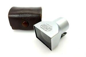 Leitz Leica Sucher SBLOO 35mm chrome mit Tasche jl090