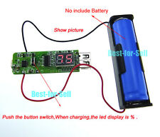 DC-DC 3.7V 4.2V to 5V USB Boost Converter Lithium 18650 Battery Charger Module