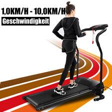 Elektrisches Motorisiertes Laufband LCD Jogging Heimtrainer Lauftraining Fitness