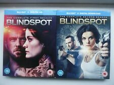 Blindspot: First & Second Seasons (Blu-ray + UV, 2017, 8-discs) with slip cases