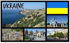 UKRAINE - SOUVENIR NOVELTY FRIDGE MAGNET - BRAND NEW - GIFT / XMAS / B / DAYS