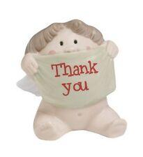 "NAO BY LLADRO CHEEKY CHERUB GREETINGS  ""A BIG THANK YOU"" 5066  MINT IN BOX  2007"