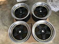 "JDM 17"" pcd114.3X4 wheels meister professor Style 180sx dc2 240sx silvia s1 sp1"