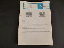 Original Service Manual Telefunken Musikus 509Z de Luxe 5090X de Luxe
