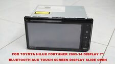DVD PLAYER DISPLAY 7''TOUCH SCREEN PZ071-00A17 TOYOTA HILUX FORTUNER 2015-17