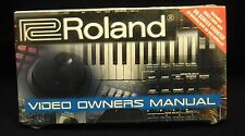 Roland BR-8 Video Owner's Manual VHS  *Brand New Sealed*