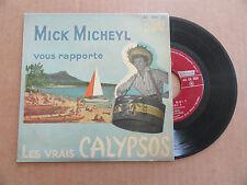 """DISQUE 45T  DE  MICK MICHEYL   """" POUR DANSER LE CALYPSO """""""
