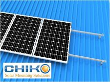 Solar Panel Mounting Kit for Angled Tin Roof: Suits 4 x 250w-320w Panels