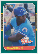 1987 Donruss Rookies - Bo Jackson - #14 - Kansas City Royals - NrMt+