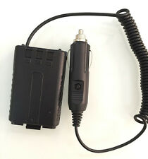 12V portable Battery Eliminator Car Charger for 2 way Radio Baofeng UV-5R UV-5RA
