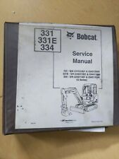 Bobcat 331 331e 334 Service Manual Missing Heating Ventilationand Ac Section