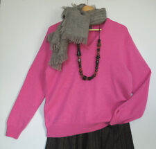 PURE LAMBSWOOL SCOTLAND, L, PINK KITTEN SOFT 100% PURE NEW WOOL Jumper, QUIRKY