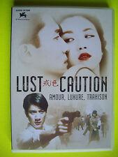 DVD   LUST CAUTION ... amour  , luxure , trahison   PRIME LION D OR  VENISE