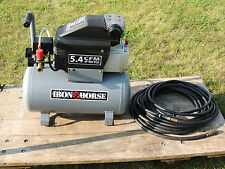 Iron Horse - 5.4 CMF 90PSI Model # IH653036L Air Compressor - Nice Condition!