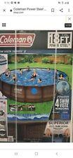 "Coleman Power Steel Swim Vista Series 18' x 48"""""""" ; Frame Swimming Pool Set"