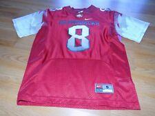 Youth Size Small 8 Nike Arkansas Razorbacks Football Jersey Top #8 Maroon EUC