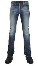 DIESEL Uomo Stretch Jeans Safado 0885k D. blu colori attenuati MIS. 31/32 * 131 *