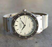 Giovani Beverly Hills quartz swiss eta movement bracelet 36 mm watch white dial