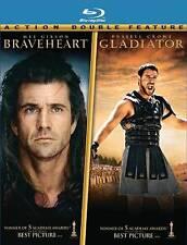 Braveheart / Gladiator (Two-Pack)   Blu-ray  W/Slipcover   BRAND NEW