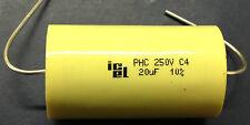 ICEL PHC 20uF 250V 85°C Axial Polypropylen Kondensator