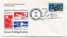 1976 Viking Mars Lander Midwest Postage Stamp Show Chicago NASA