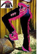 Youth Custom Made Suede Western Show Chaps